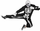 Adult Karate Kid Skeleton Costume