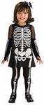 Toddler Cute Skeleton Costume