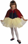 Child's Snow White Balerina Cape