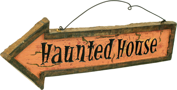 Haunted House Sign Set
