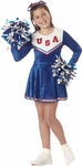 Child's Blue Pep Rally Cheerleader