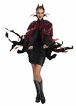 Adult Black Devil Cape Costume