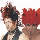 Spiked Devil Wigs