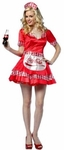 Womens Coca-Cola Waitress Costume