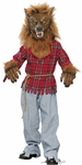 Child's Deluxe Werewolf Costume