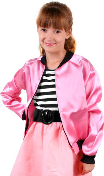 Child's Satin Poodle Jacket