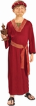 Child's Burgundy Wise Man Biblical Costume