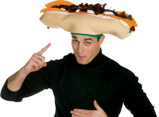 Cheese Steak Hat