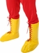 Yellow Wrestling Boot Top Covers