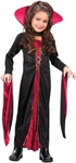 Child's Victorian Vampiress Dress Costume