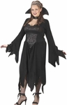 Plus Size Black Vampiress Costume