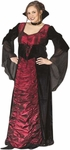 Plus Size Velour Vampiress Costume