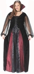 Women's Plus Size Maiden Vampiress Costume