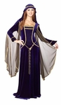 Women's Blue Renaissance Dress