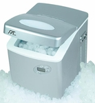 Portable Ice Maker w/ LCD & Self-Clean Function