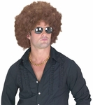 Men's Brown Afro Wig