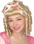 Little Prairie Girl Costume Wig
