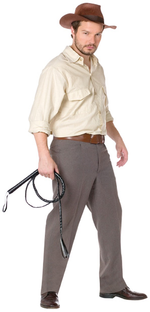 Adult Indiana Jones Costume Kit