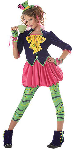 Preteen Mad Hatter Costume