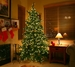 7 1/2' Prelit Pine Artificial Christmas Tree w/ Clear Lights