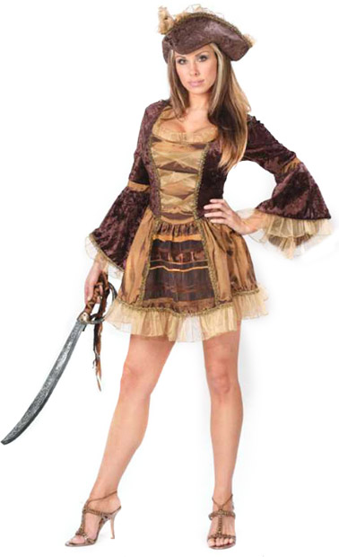 Adult Sexy Victorian Pirate Costume