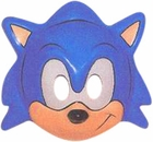 Sonic The Hedge Hog PVC Costume Mask