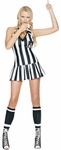 Sexy Referee Halter Top Dress