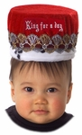 Child's Red King For A Day Hat