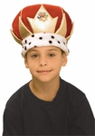 Plush Child's King Crown
