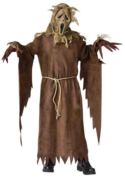 Child's Scarecrow Ghost Face Costume