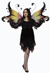 Adult Black Fairy Dress Costume