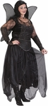 Plus Size Gothic Fairy Princess Costume
