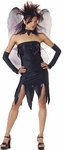Teen Black Evil Fairy Costume