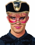 Captain Venetian Carnival Mask