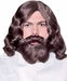Brown Biblical Wig & Beard Set