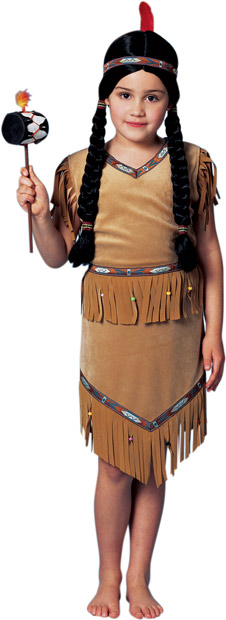 Child's Lil' Pow Wow Pocahontas Costume