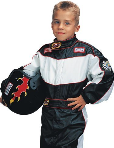 Child's Race Car Driver Costume Set