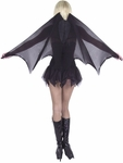 Tall Bat Costume Wings