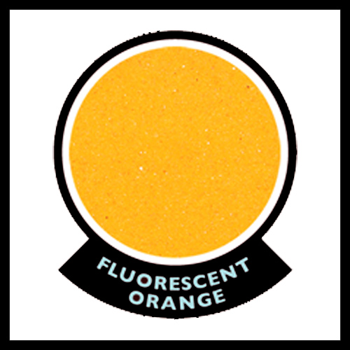 Fluorescent Orange Play Sand