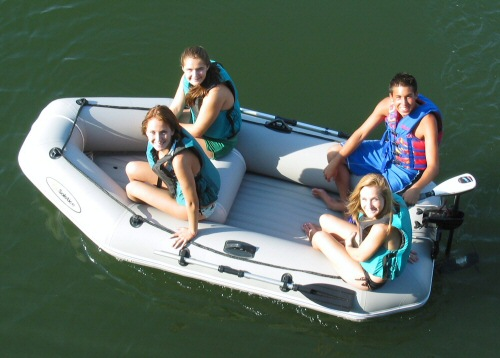 Solstice Quest 9.5 Ft Inflatable Boat