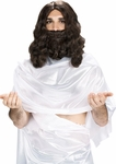 Jesus Christ Wig And Beard Set