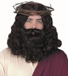Jesus Wig & Beard Set