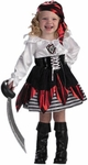 Child's Petite Pirate Girl Costume