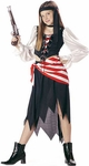 Child's Ruby Pirate Girl Costume