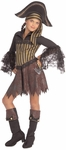 Child's Sassy Pirate Girl Costume