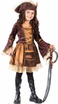 Child's Sassy Victorian Pirate Costume