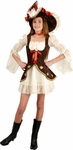 Preteen Suede Lacey Pirate Costume