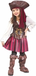 Toddler High Seas Girls Pirate Costume