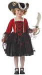 Toddler Pretty Princess Pirate Costume