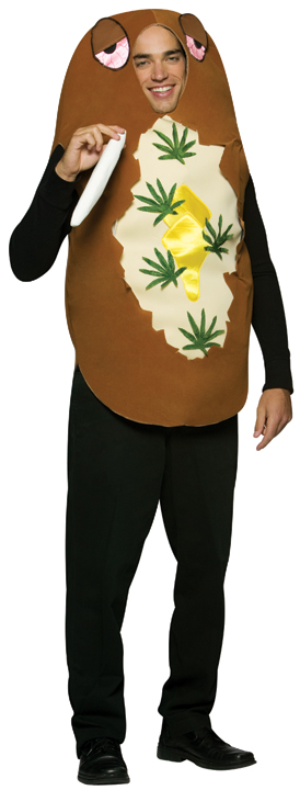 Adult Marijuana Baked Potato Costume